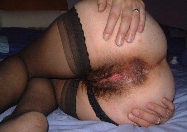 женское волосатое очко фото